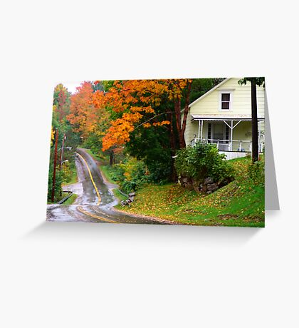 Other Side of the Road Greeting Card