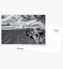 Outback Car Postcards
