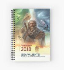 """""""¡Sea valiente!"""" Asamblea del 2018 de los testigos de Jehová #3 Spiral Notebook"""