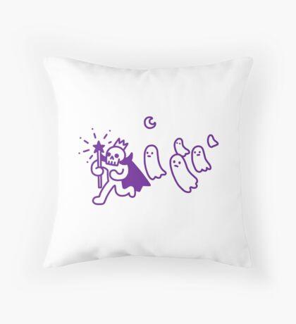 Little Lich King Throw Pillow