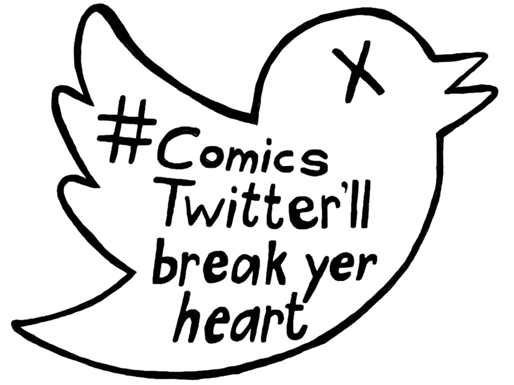 Comics Twitter  by Andrea Shockling