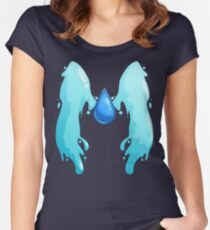 Lapis Wings Women's Fitted Scoop T-Shirt