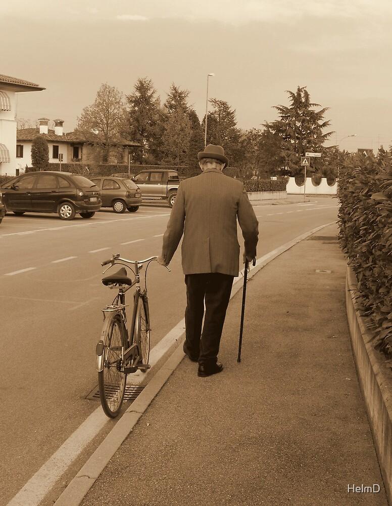 Walking the Bike by HelmD