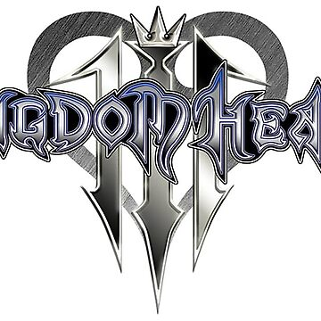 Kingdom Hearts 3 Logo by Twinsnakes0000