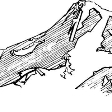 Stylized Mountain by frespirit