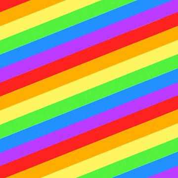 rainbow stripes by toastedstew