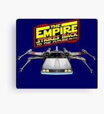 Empire Strikes Back to the Future Canvas Print