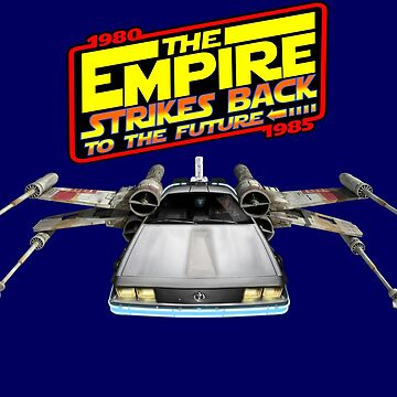 Empire Strikes Back to the Future by zenjamin