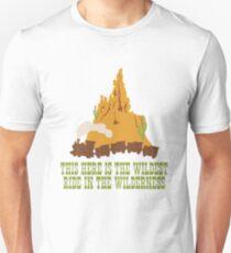 Camiseta unisex Big Thunder Mountain
