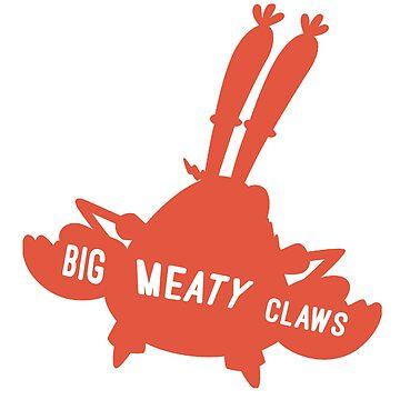 Spongebob Big Meaty Claws by Sir-Jamus