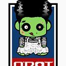 Bride of Zombio'bot 1.1 by Carbon-Fibre Media