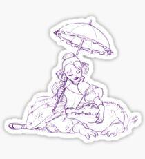 Alligators make wonderful pets Sticker