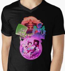 Camiseta de cuello en V Cree en Steven