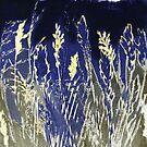 """Mornington Skies 9 - Monoprint by Belinda """"BillyLee"""" NYE (Printmaker)"""