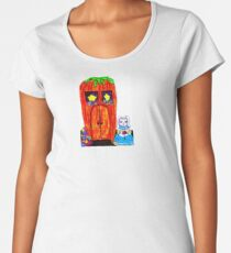 FRAU. BUNNY'S KAROTTENHAUS Frauen Premium T-Shirts