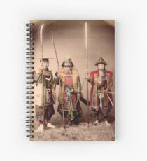 Samurai Spiral Notebook