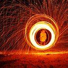 Fire Twirler by Jarrod Sierociak