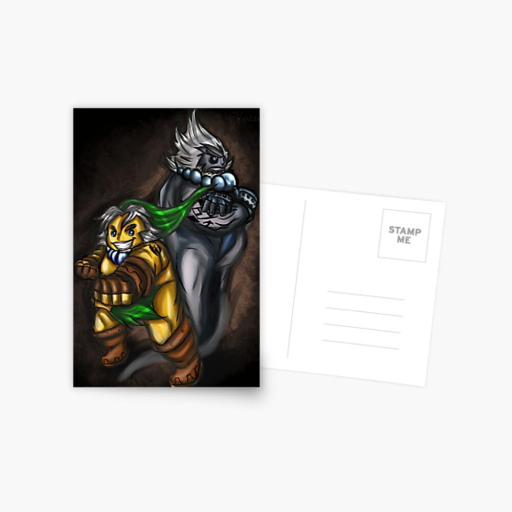 Goron Link und Darmani Postkarte