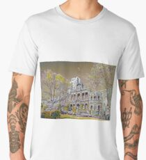 Carlton streetscape Men's Premium T-Shirt