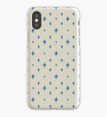 Blue Star Pattern iPhone Case/Skin