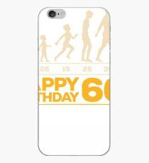 Evolution Birthday 60 iPhone Case