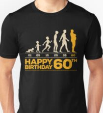 Evolution Birthday 60 Unisex T-Shirt