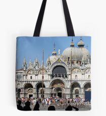 St Marco Square Tote Bag