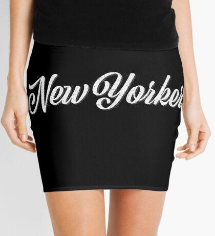 New Yorker Vintage Letter Mini Skirt
