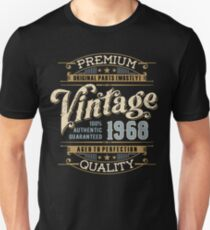 Birthday 50 Design: Vintage Slim Fit T-Shirt