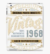 Birthday 50 Design: Vintage iPad Case/Skin