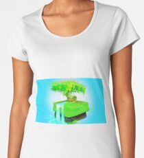 Isometric Tree of Life Women's Premium T-Shirt