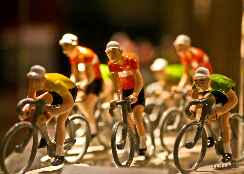 The Porcelain Peloton by martinilogic