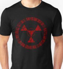 Digital Hazard Symbol Slim Fit T-Shirt