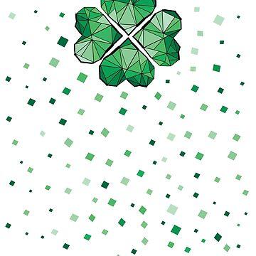 Geometric clover leaf  by cheeckymonkey
