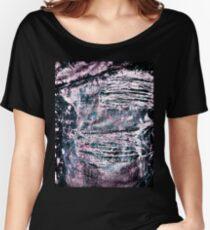 Ripped Denim Women's Relaxed Fit T-Shirt