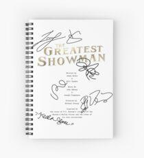 The Greatest Showman Script Spiral Notebook