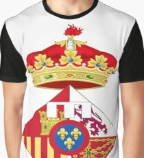 Infanta Sofía of Spain, Coat of arms, arms, crest, blazon, cognizance, childrensfun, purim, costume Graphic T-Shirt