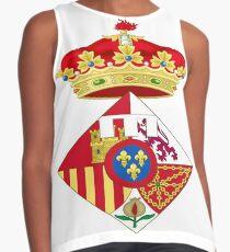 Infanta Sofía of Spain, Coat of arms, arms, crest, blazon, cognizance, childrensfun, purim, costume Contrast Tank