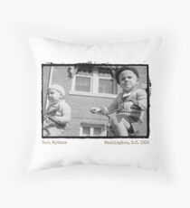 I Want to Ride My Tricycle (Amazing Archives) Throw Pillow