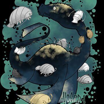 Hoard of isopod by ArryDesign
