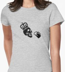 Grog Save the Queen - Black Design Women's Fitted T-Shirt