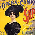 Comic Opera French Classic Vintage Poster by gshapley