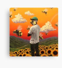 Flower Boy Canvas Print