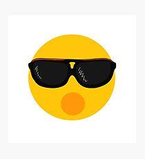 Cool Emoji Photographic Print