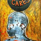"""Who Cares"" - Matrix by Belinda ""BillyLee"" NYE (Printmaker)"