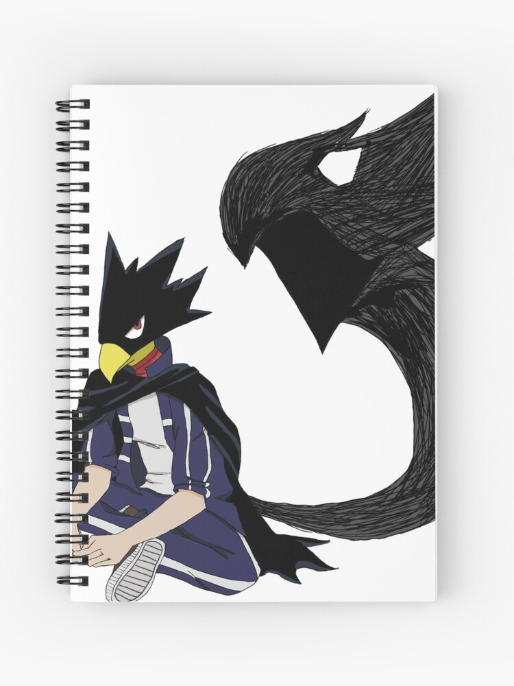 Tokoyami Fumikage And Dark Shadow Spiral Notebook