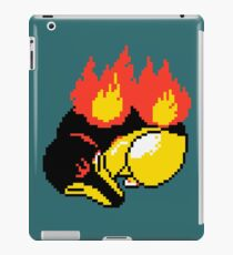 Sleepy Cyndaquil Pixel iPad Case/Skin