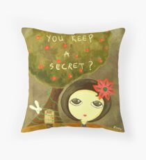 Can You Keep A Secret? Throw Pillow