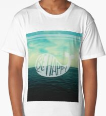 Happy Whale - Lost at Sea Long T-Shirt