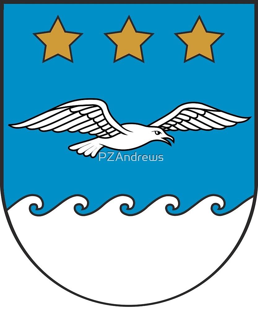 Jūrmala coat of arms, Latvia by PZAndrews